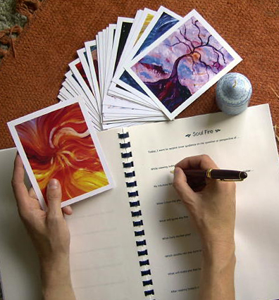 Art Guidance Cards and Journal